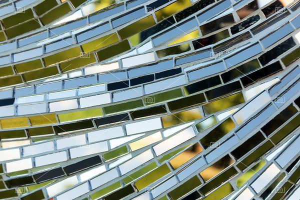 Mirror mosaic detail