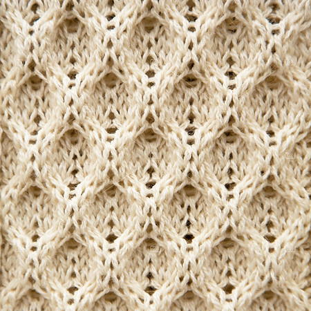 Knitted Aran wool background