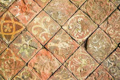 Ancient floor background