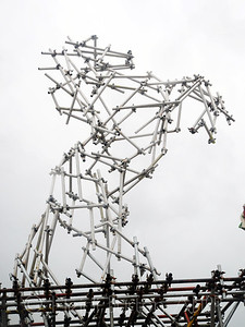 Scaffolding horse by Ben Long