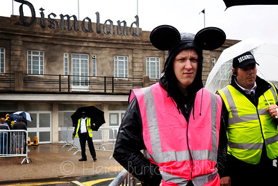 Welcome to Dismaland - no smiling, no laughing, no having fun.
