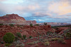 """Evening Clouds at Capitol Reef""<br /> <br /> Clouds over the rock formations of Capitol Reef National Park, Utah, USA."