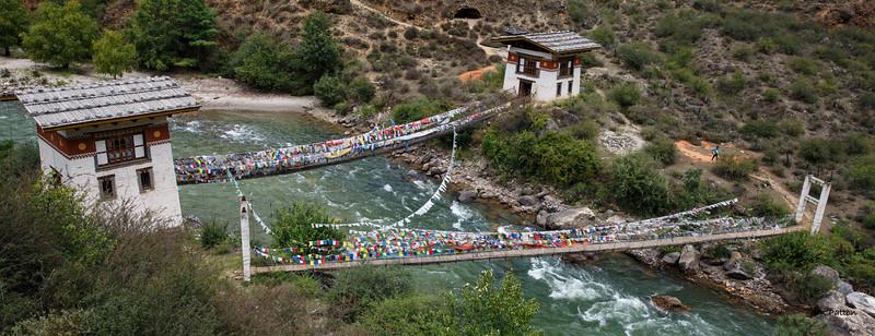 Chain Bridge at Tachogang Temple