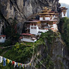 Taktshang Goemba - Tiger's Nest Monastery 900m above the Paro Valley