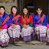 Dance group for the Tamshing Festival (Bumthang)