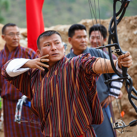 Archery - Bhutan's national sport (Punakha)