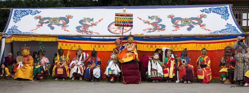 Tamshing Festival Royal Court (Bumthang)