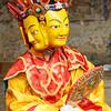 Tamshing Festival dancer (Bumthang)