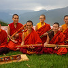 Nuns at the Sangchen Dorji Lhendrup convent near Punakha