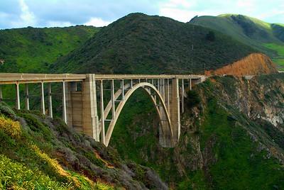 The Bixby Bridge Big Sur, California