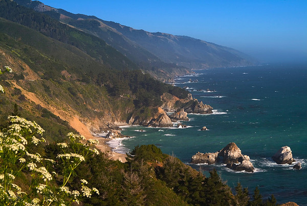 South Coast Vista - Big Sur, California