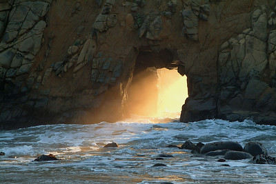 Winter Sunset on Pfeiffer Beach