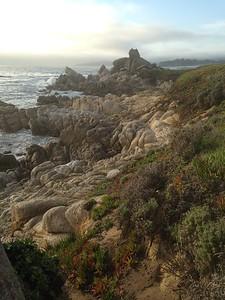 Rocky Coastline in Carmel