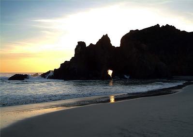 Sunset on Pfeiffer Beach