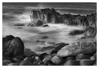 Pacific Grove Coast 10 b&w