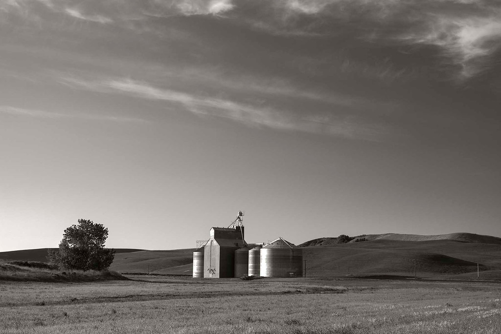 Grain Silo, Palouse, E Washington