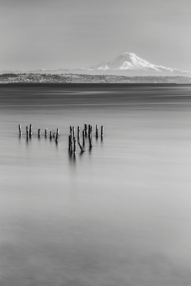 Mt Rainier from Bainbridge Island, Washington
