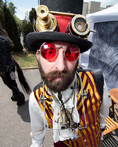 A FINE DAY FOR COSPLAY AT THE 2017 STEAMPUNK WORLD'S FAIR IN PISCATAWAY NJ