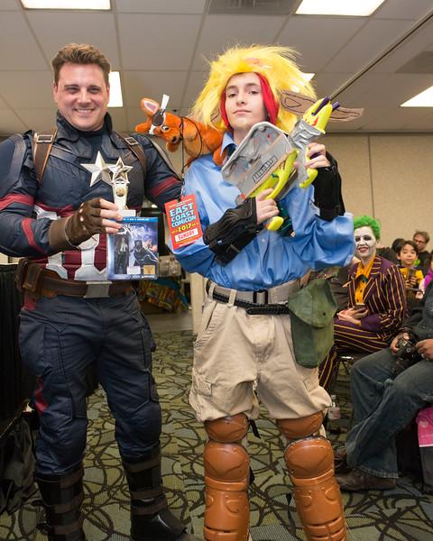 East Coast Comicon 2017 Contest