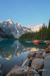 Canoe dock