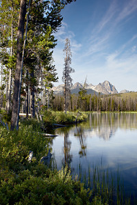 """Redfish Lake""  Redfish Lake and the Sawtooth Range. Taken in the Sawtooth National Recreation Area, Idaho, USA."