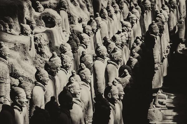 Terra Cotta Warriors, Xi'an China