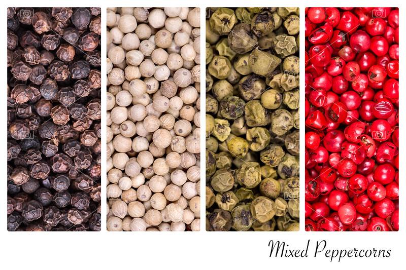 Peppercorn collage