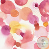 Pink Orange Yellow Abstract - Beverly Brown Artist