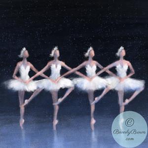 Swan Lake Dance of the Cygnets - Beverly Brown Artist