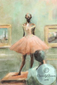 Gazing at Degas - Beverly Brown Artist