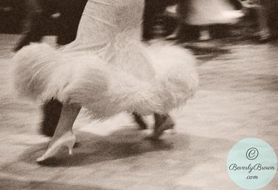 Ballroom Dancers - Puffy Skirt  - Beverly Brown Artist