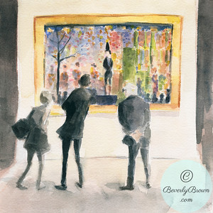 Observing the Observers - Beverly Brown Artist