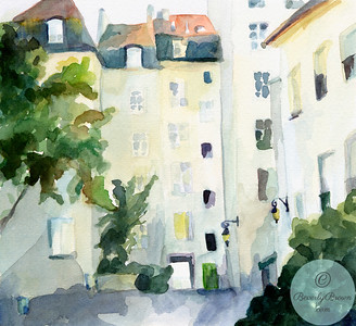 Village St. Paul Paris  - Beverly Brown Artist