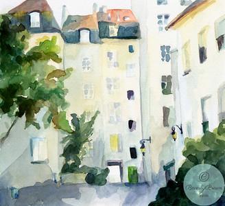 Village St. Paul Paris  - Beverly Brown Artist