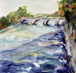 Pont Marie Paris  - Beverly Brown Artist