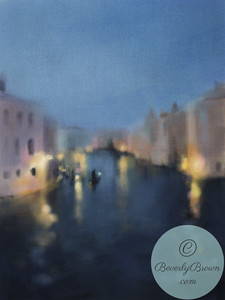 Grand Canal Light Venice - Beverly Brown Artist