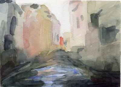 Bridges Venice  - Beverly Brown Artist