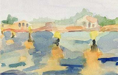 San Michele Venice  - Beverly Brown Artist