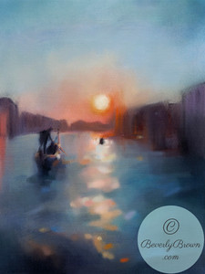 Venice Canal - Beverly Brown Artist