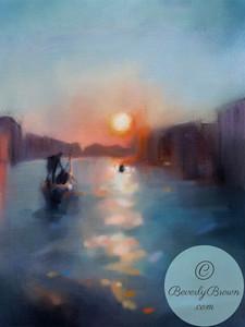 Venice Canal - Beverly Brown Artist