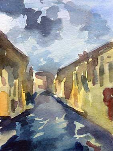 Cloudy day Venice  - Beverly Brown Artist