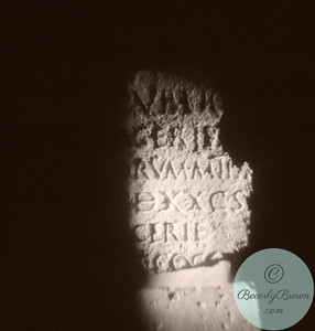 Stone Tablet Rome