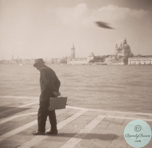 Man and Bird Venice