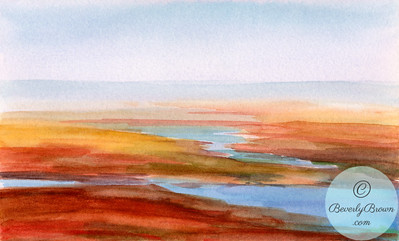 Low Tide Cape Cod  - Beverly Brown Artist