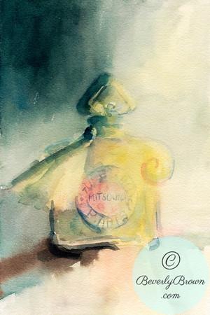 Vintage Mitsouko perfume  - Beverly Brown Artist