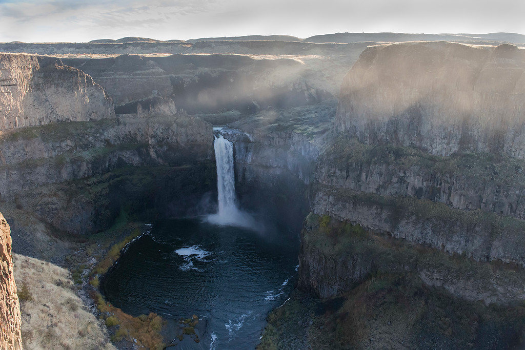 Mist at Sunrise, Palouse Falls State Park, Eastern Washington