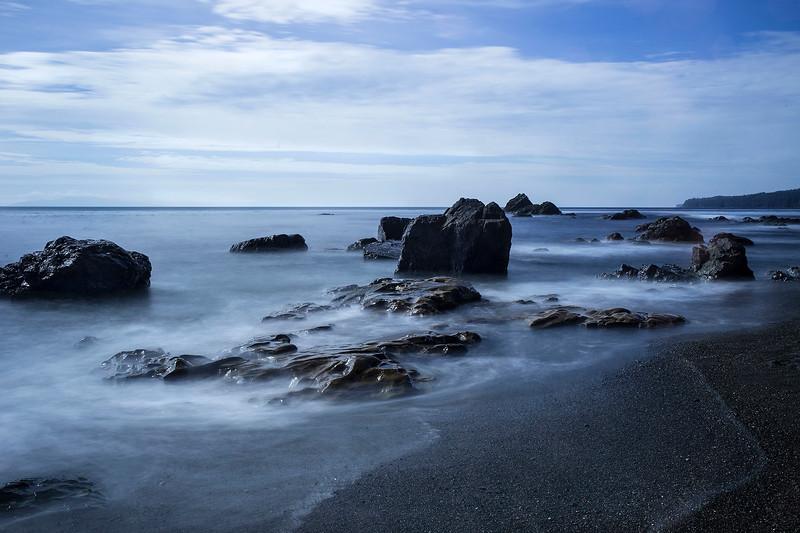 Coastline, Sombrio Beach, Vancouver Island, BC