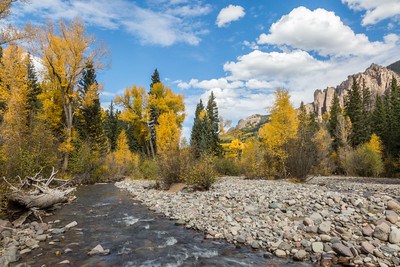 """The West Fork in Fall"""