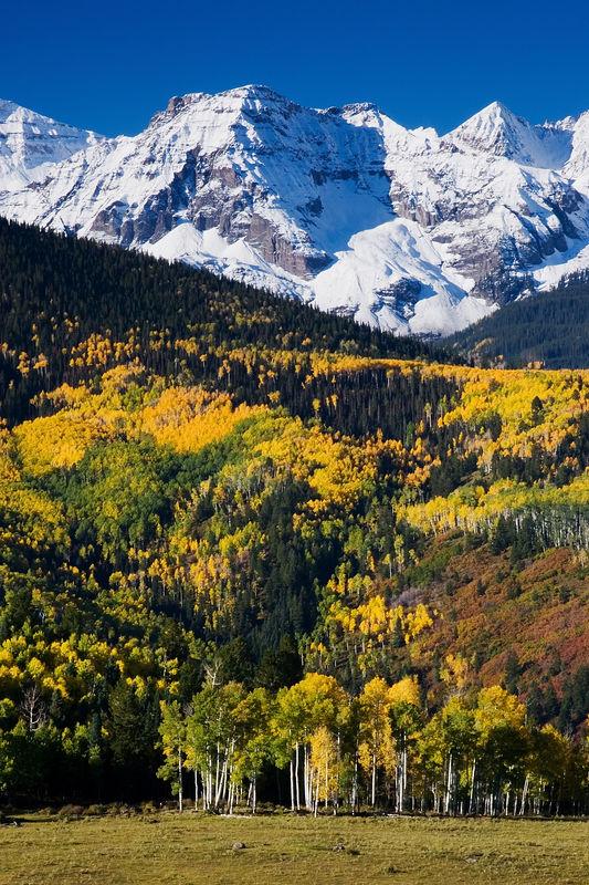 """Southwest Fall II""<br /> The San Juan Mountains near Ridgway, Colorado."
