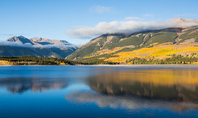 """Reflections of a Colorado Fall"""